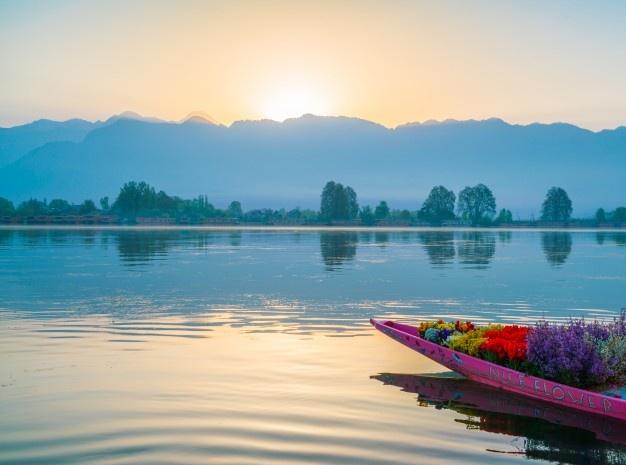 calme Inde